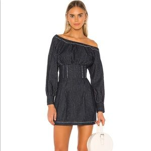 Lovers + friends revolve frenchie striped dress